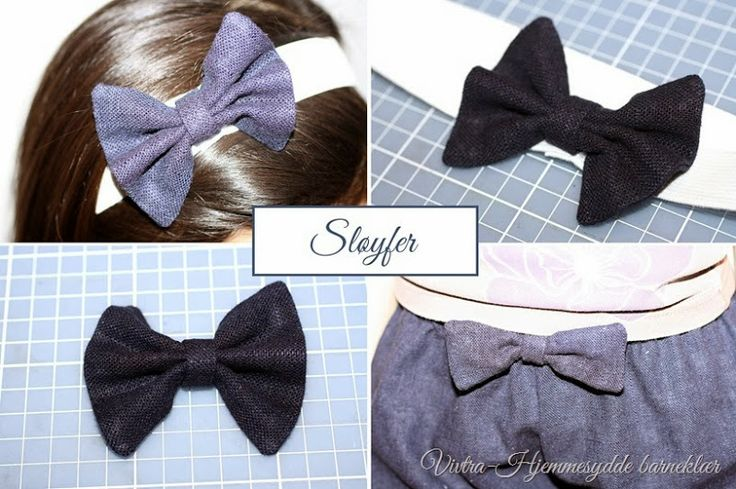 Tutorial-How to sew a bow.