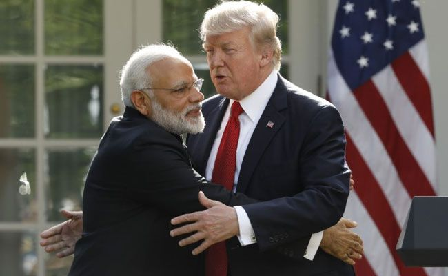 Narendra Modi-Donald Trump meeting in Washington Endorses India's Stand On China-Pak Corridor | News | FanPhobia - Celebrities Database