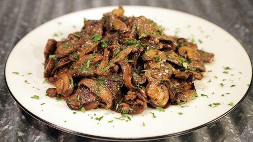 Steak Diane Stir-Fry Recipe | The Chew - ABC.com