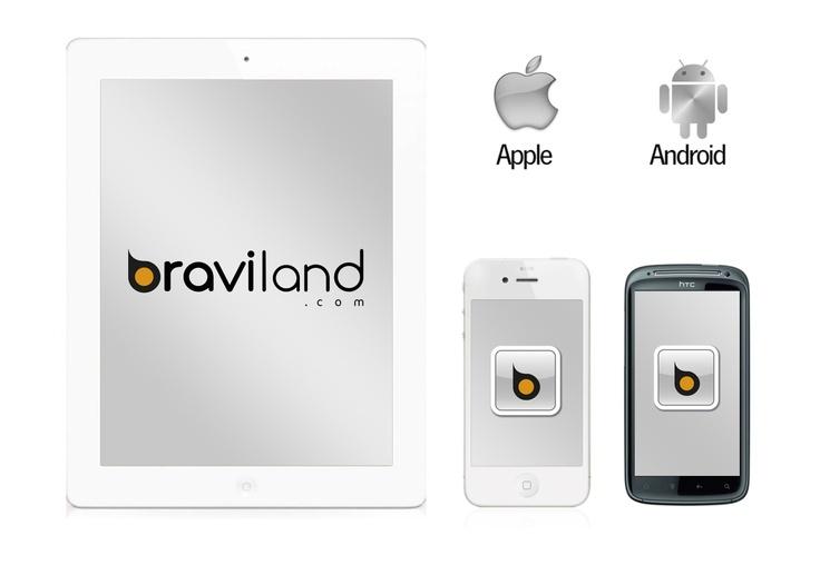 Diseño IU móvil para #braviland