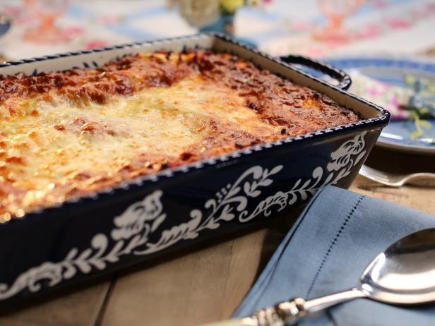 My Mom S Lasagna Recipe Food Network Recipes Food Lasagna