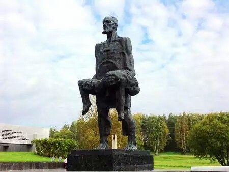 Standbeeld uit het gedenkpark van 'Khatyn'
