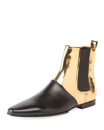 Balmain Artemis Leather And Suede Men S Ankle Boots In Black