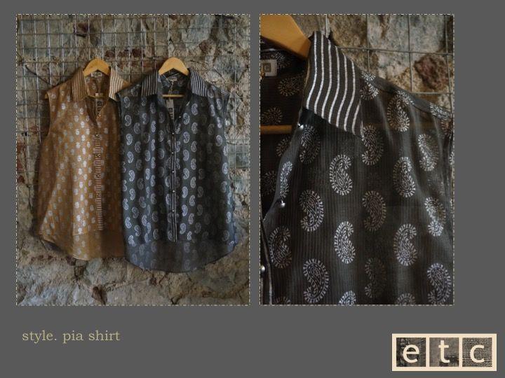 Natural Dyes | Pia shirt
