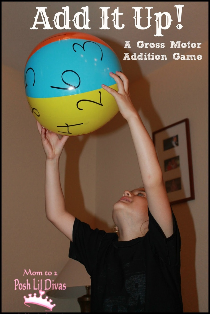 Add It Up! A Gross Motor Addition Game