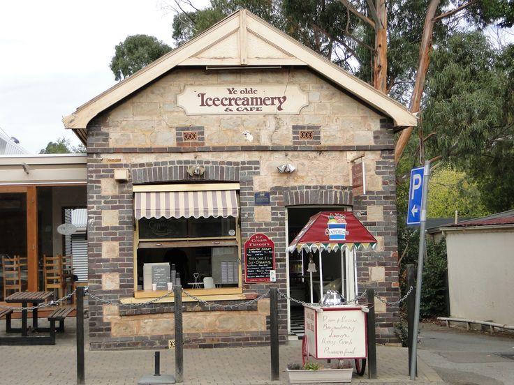 Ye Olde Icecreamery, Hahndorf, Adelaide Hills