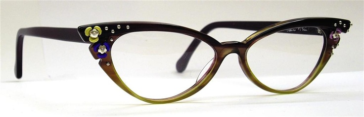 VIERZON FRAME. BEAUTIFUL ONE WITH OR WITH OUT THE LITTLE FLOWERS. #GLASSES
