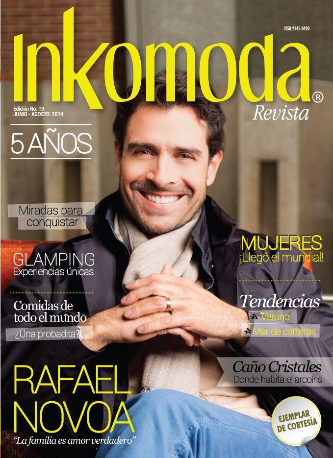 Rafael Novoa, La familia es amor verdadero Edición No.19 Junio-Agosto 2014 http://www.inkomoda.com/rafael-novoa-la-familia-es-amor-verdadero/