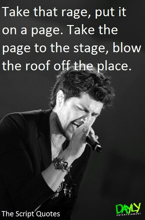 The Script - Quotes And Lyrics