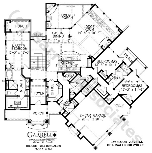 27 best floor plans images on pinterest house floor plans Northwest Lodge Style House Plans grist mill bungalow house plan 07462,1st floor plan, mountain style house plans northwest lodge style house plans