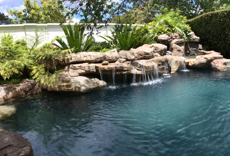 16 best rock sculptures and features images on pinterest for Koi pond builders cape town