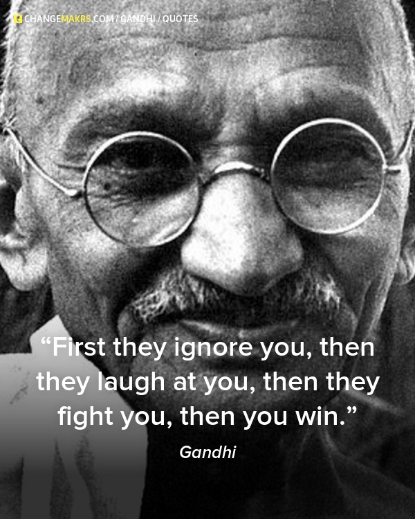Mahatma Gandhi Quotes First They Ignore You: 112 Best Quotes Images On Pinterest