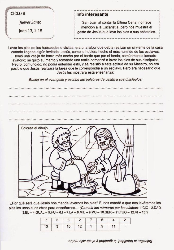 El Rincón de las Melli: Jueves Santo - CICLO B