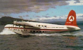 ANSETT Short Sandringham Flying Boat (1974)