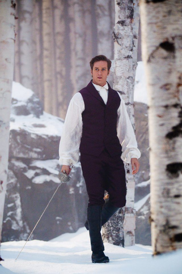 Armie Hammer.Prince Charming for Mirror, Mirror