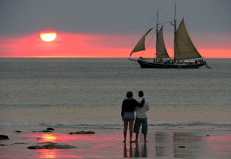 Sunset at Mindil Beach, Darwin -  Best Beaches in Australia