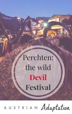 Perchten: Austria's wild pagan festival you have to see to believe!