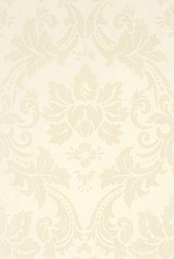 Плитка настенная Керамическая плитка с глянцевой поверхностью с гладким растительным орнаментом серого цвета