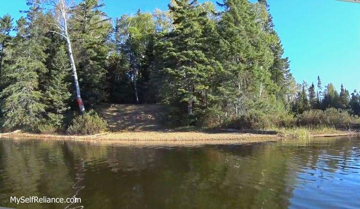 McGarvey Lake south campsite