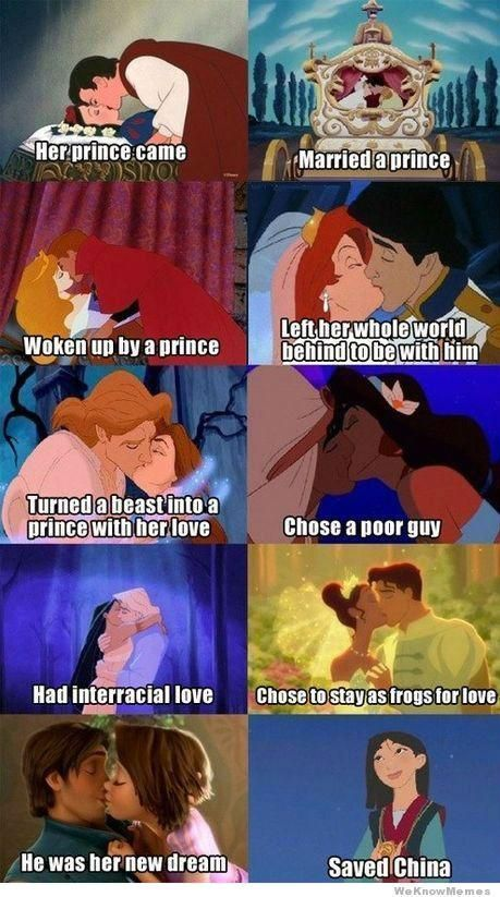 45+ sarcastic and yet funny Disney Princess Memes