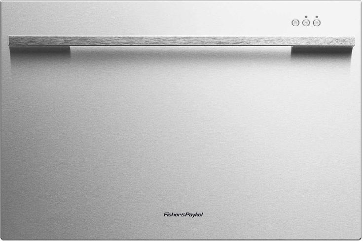 """Fisher Paykel DD24SDFX7 24"""" Built In Semi-Integrated Dishwasher, Stainless Steel"""