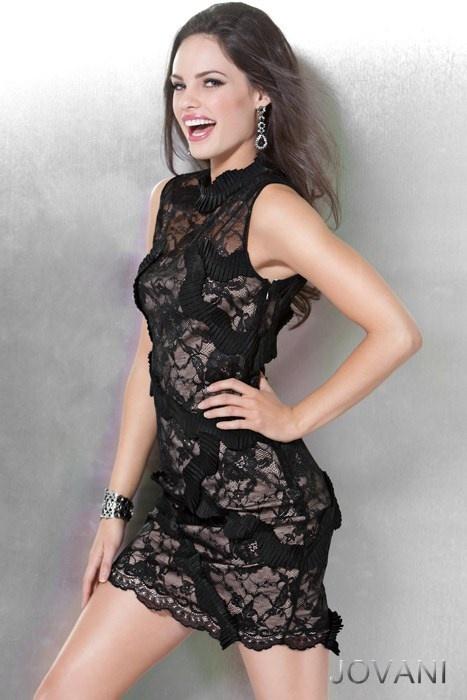 #Lace #dress, #Jovani style 71476, #sophisticated
