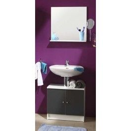 Parisot Flash anthracite bathroom furniture set
