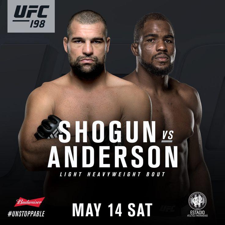 UFC 198 Gets Shogun Rua vs. Corey Anderson : Hombres Mag For Men | MoreSmile