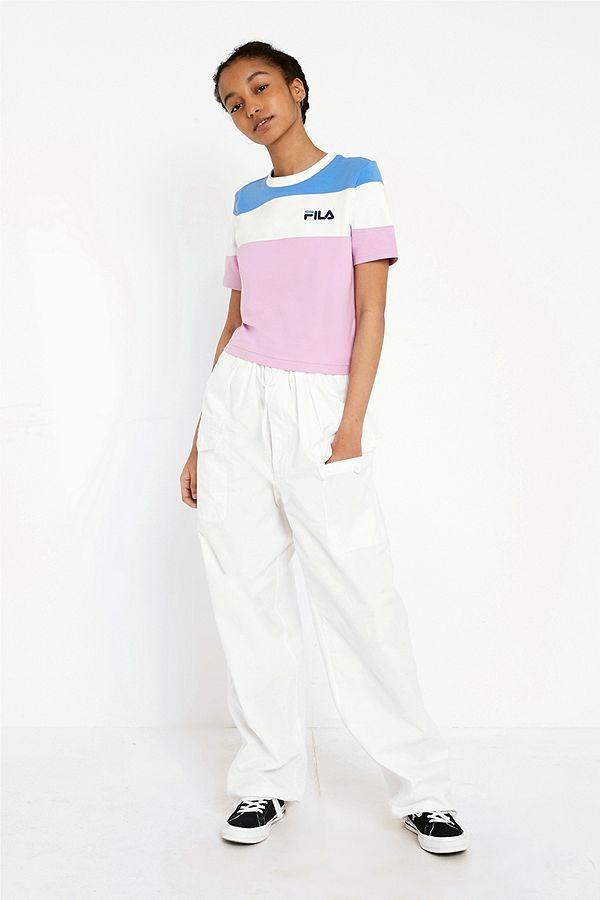 c041cbd6863cde Slide View  4  FILA Maya Cut   Sew Crop T-Shirt