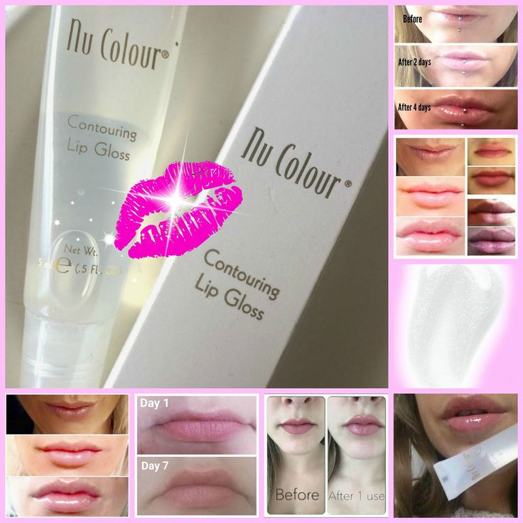You don't need needles anymore, to have fuller lips! Kiss thin, undefined lips goodbye with Nu Colour Contouring Lip Gloss for full, shapely, youthful looking lips. Clinically proven to stimulate collagen production, this peptide helps you achieve the full, shapely lips you desire in only 28 days.  What do you have to lose?! Message me for details, or order yours today!