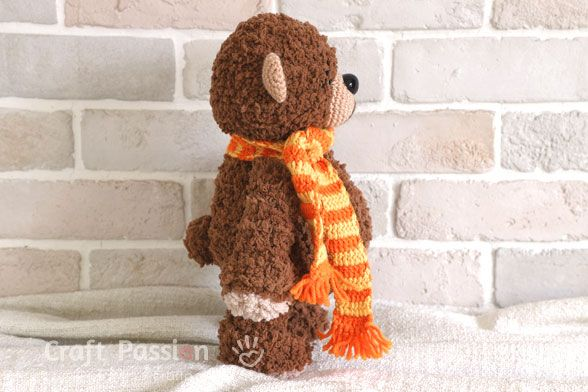 Boco Bear Amigurumi is a perfect cuddly soft plush toy in huggable size. It is c…