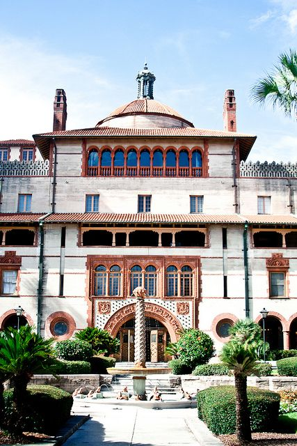 Flagler College in St Augustine, Florida was originally built as the Ponce de Leon Hotel http://occu.info/category/online-colleges-in-florida/