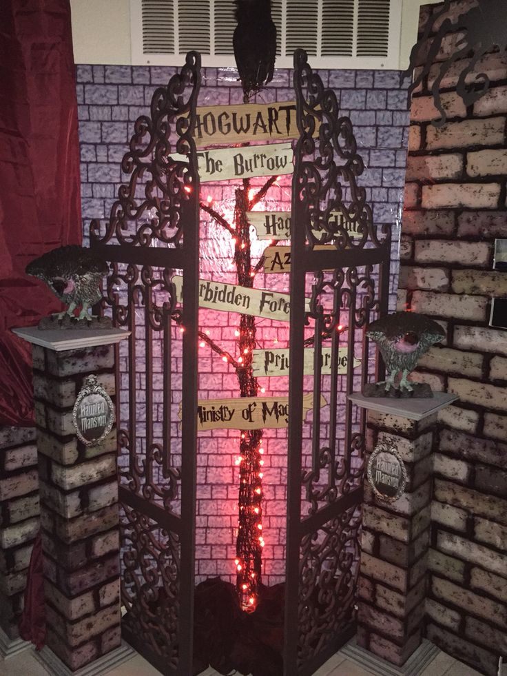 my own props halloween 2016 harry potter hogwarts - Hogwarts Halloween