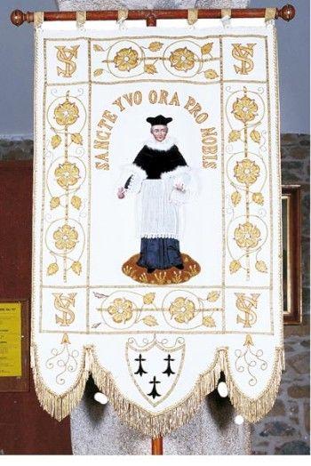 Bannière de saint Yves, Lézardrieux (22)