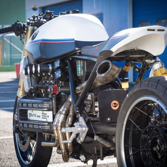 BMW K1100 Cafe Racer By De Angelis Elaborazioni #motorcycles #caferacer #motos | caferacerpasion.com