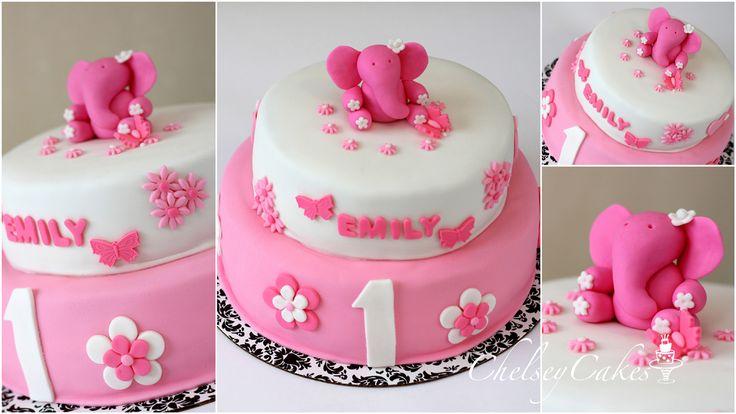 Elephant Cake Ideas