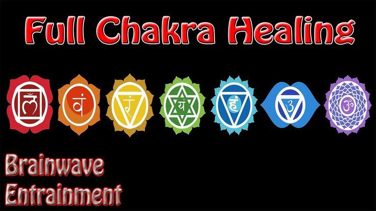 Intensity Warning! 1 Hour *Full* Chakra Balance Meditation   Binaural Beats Root To Crown - YouTube