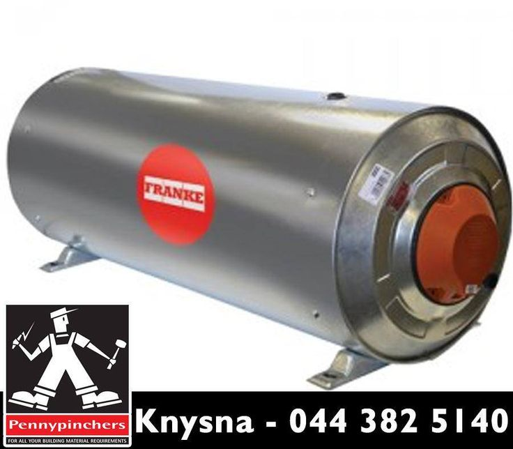 The #Franke geyser from #PennypinchersKnysna is ideal as an exterior geyser that is vertically or horizontally wall mounted. Visit us or contact us on 044 382 5140 for more info.