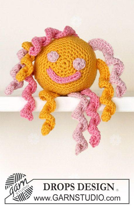 Free pattern: Crochet DROPS Sun toy ~ DROPS Design