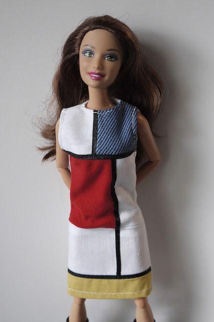 YSL dress called 'Mondrian'