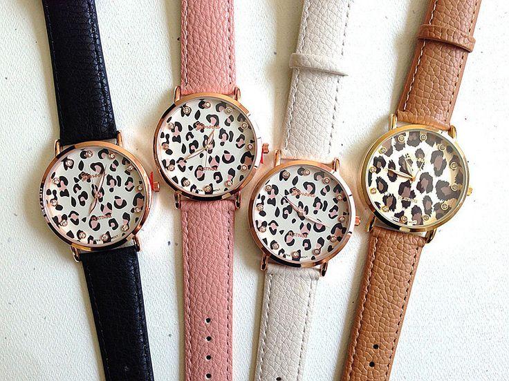 Купить товарНовинка кожаный ремешок женева зерна леопарда часы женщины одеваются часы кварцевые наручные часы AW SB 1129 в категории Модные часына AliExpress.                                 100% новые часы                      Водонепроницаемый в повседневной