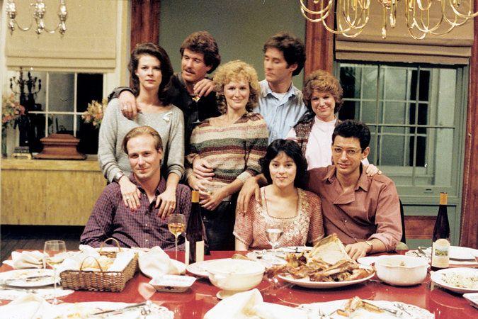 A nagy borzongás /The Big Chill/ magyarul beszélő, amerikai filmdráma, 105 perc, 1983     Sarah Glenn Close Harold Kevin Kline