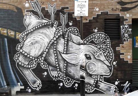 Thisones in Hackney Wick, London, 2016