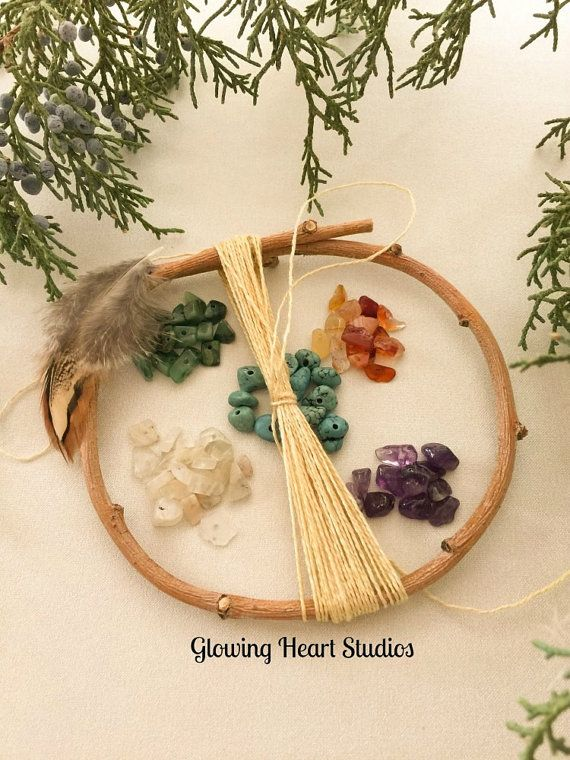 DIY Dream Catcher Kit  small natural by GlowingHeartStudios