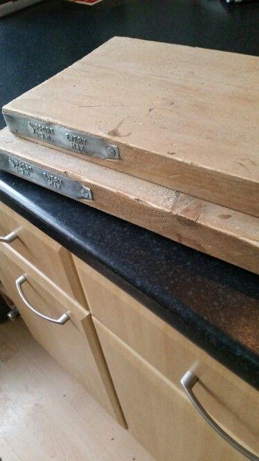 Scaffold board shelving