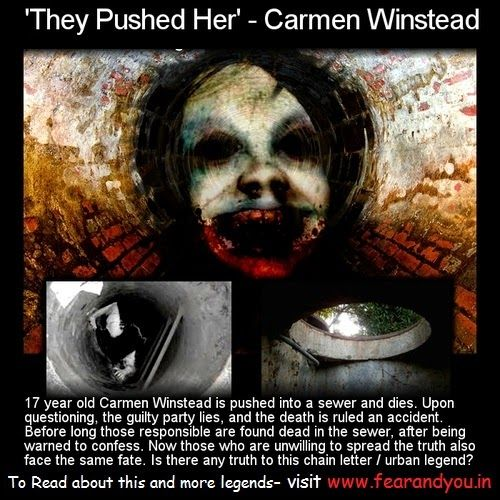 The Creepy Story of Carmen Winstead and Her Wandering Ghoul