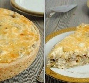 Лоранский пирог с курицей и грибами рецепт – завтраки. «Афиша-Еда»