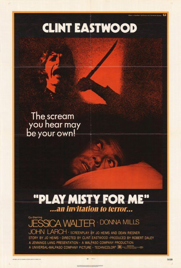 Play Misty for Me 27x40 Movie Poster (1971)