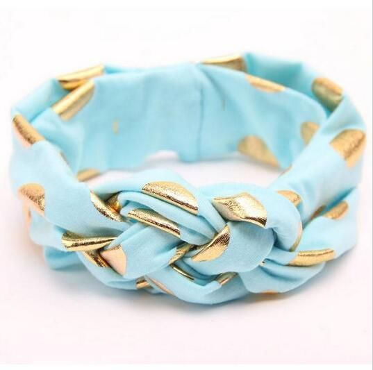 [Visit to Buy] Fashion Baby Girl Headwraps Top Knot Printed Headband Children Infants Ears Bow Hairband Turban Baby Hair Accessories #Advertisement