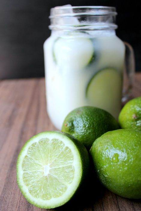 Brazilian 'Lemonade' by playzwithfood #Beverage #Lemonade #Lime #Condensed_Milk